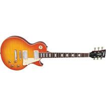 Guitarra Vintage V100 Hb Flamed Honey Burst - Loja Física