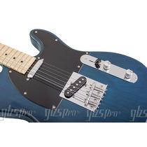 Guitarra Gbspro Telecaster-azul + Semi Case+ Frete Gratis
