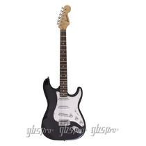 Guitarra Gbspro Stratocaster-preto Frete Gratis+blindagem