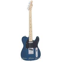 Guitarra Gbspro Telecaster-azul Trans Frete Gratis+blindagem