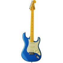 Guitarra Tagima Strato Woodstock Tg 530 Lb Azul Metálico