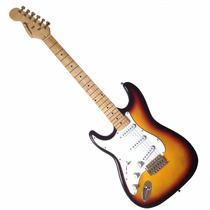 Guitarra Stratocaster Gbspro Canhoto - Sunburst