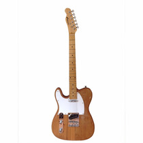 Guitarra Telecaster Gbspro Canhoto - Natural