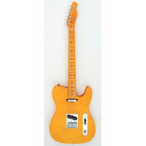 Guitarra Custom Telecaster Ss Amber Flame Top Maple Tele 006