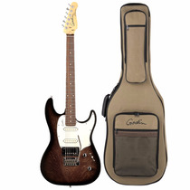 Guitarra Godin Session Rosewood Fd Black 34048 Com Bag