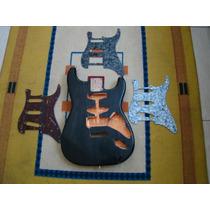 Corpo Guitarra Estrato, Padrão Fender Em Ash