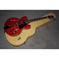 Guitarra Es-335 Semi-acústica Vermelha