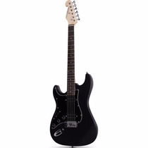 Guitarra Canhota 2 Humbuckers Preta G-102 Giannini