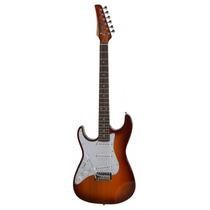 Promoção Guitarra Seizi Strato Vision Honeyburst - Canhoto