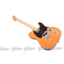 Guitarra Gbspro Telecaster Natural Blindada + Frete Gratis