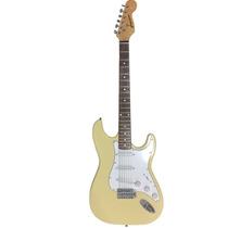 Guitarra Gbspro Stratocaster - Branco Vintage- Frete Grátis