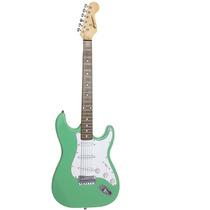 Guitarra Gbspro Stratocaster - Surf Green Frete Gratis