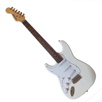 Guitarra Gbspro Stratocaster Canhoto - Branca+frete Brasil