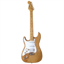 Guitarra Stratocaster Gbspro Canhoto - Natural