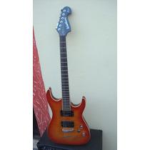 Guitarra Washburn X50 Q Com Captador Emg 89 - Troco
