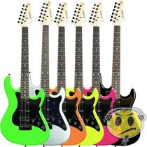 Guitarra Strinberg Egs267 Strato Tremolo Flutuante + Brinde
