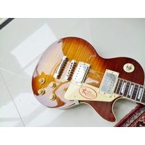 Guitarra Les Paul De Luthier 1959 R9 Tiger Leia Tudo Anuncio