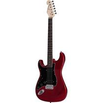 Guitarra Strato Canhota 2h G-102 Vermelha Giannini