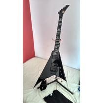 Guitarra Luthier Modelo Flying V Randy Rhoads 5 Trocas