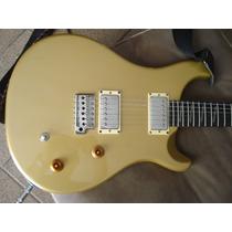 Guitarra Prs Santana Se Goldtop - Customizada
