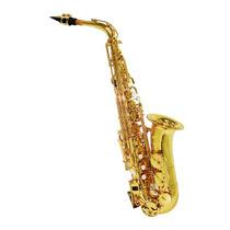 Saxofone Shelter Alto Sft6430l Com Estojo