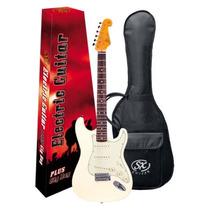Guitarra Sx Sst 62+ Vintage Branco Vintage - Gt0089