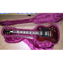 Guitarra Sg Sx Com Case Braço Colado