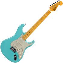 Guitarra Tagima Woodstock Tg530 Stratocaster Verde Pastel