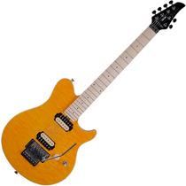 Guitarra Tagima Tgm200 Âmbar Transparente 2 Humbuckers Coil