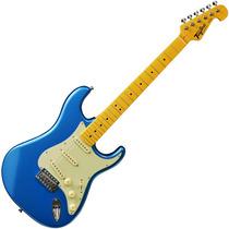 Guitarra Stratocaster Tagima Woodstock Tg530 Azul Metálica