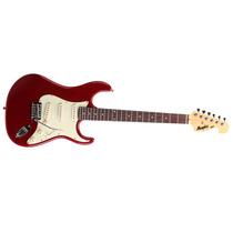 Guitarra Memphis Mg32 Strato Vermelha Metal 8586