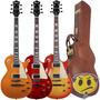 Guitarra Tagima Les Paul Tlp Flamed + Hard Case Top Oferta