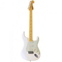 Guitarra Tagima Woodstock Tg-530 Wv Strato Branca - Refinado