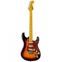 Guitarra Tagima Woodstock Tg-530 Sb Sunburst Strat- Refinado