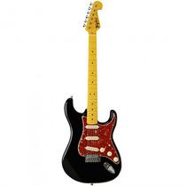 Guitarra Tagima Woodstock Tg-530 Bk Preta Strato - Refinado