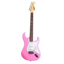 Guitarra Tagima Memphis New Mg32 Strato - Pink