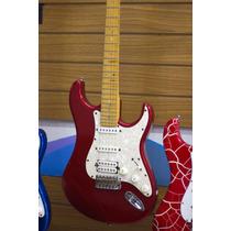 Guitarra Tagima Stratocaster Hand Made Brazil T-735 Vermelha