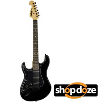 Guitarra Tagima Memphis Canhoto New Mg32 Preta