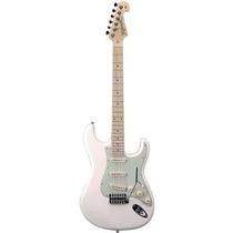 Guitarra Tagima T635 Brasil Strato Antique - Branco Vintage