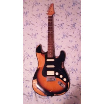 Guitarra Washburnstratocasterlyonséries 1995