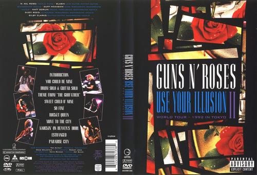 Guns N Roses - Use Your Illusion 2 Live Tokyo - Dvd Novo