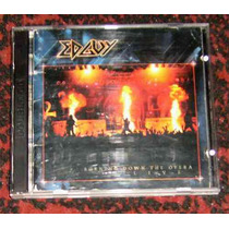Cd Edguy Burning Down The Opera Live Duplo Original