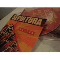 Sepultura - Nation (autografado Por Toda Banda)