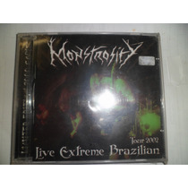 Cd Nacional - Monstrosity - Live Extreme Brazilian Tour 2002