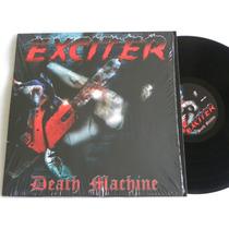 Exciter Death Machine Lp Metallica Megadeth Razor Manowar