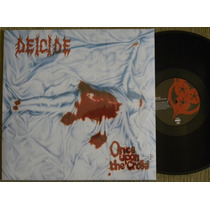 Deicide Once Upon The Cross Lp Lacrado Morbid Angel Carcass