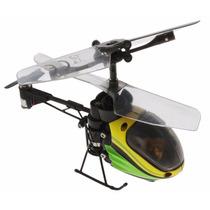 Nano Falcon Verde E Amarelo - Helicóptero Rc Silverlit Dtc