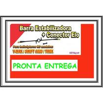 Barra Estabilizadora + 2 Conector P/ Helicóptero V-max 6020