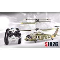 Mini Helicóptero Militar Syma S102g Rtf 3ch Infravermelho