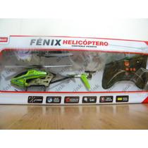 Helicoptero Fenix 3 Canais Art Brink Com Giroscopio 27 Cm